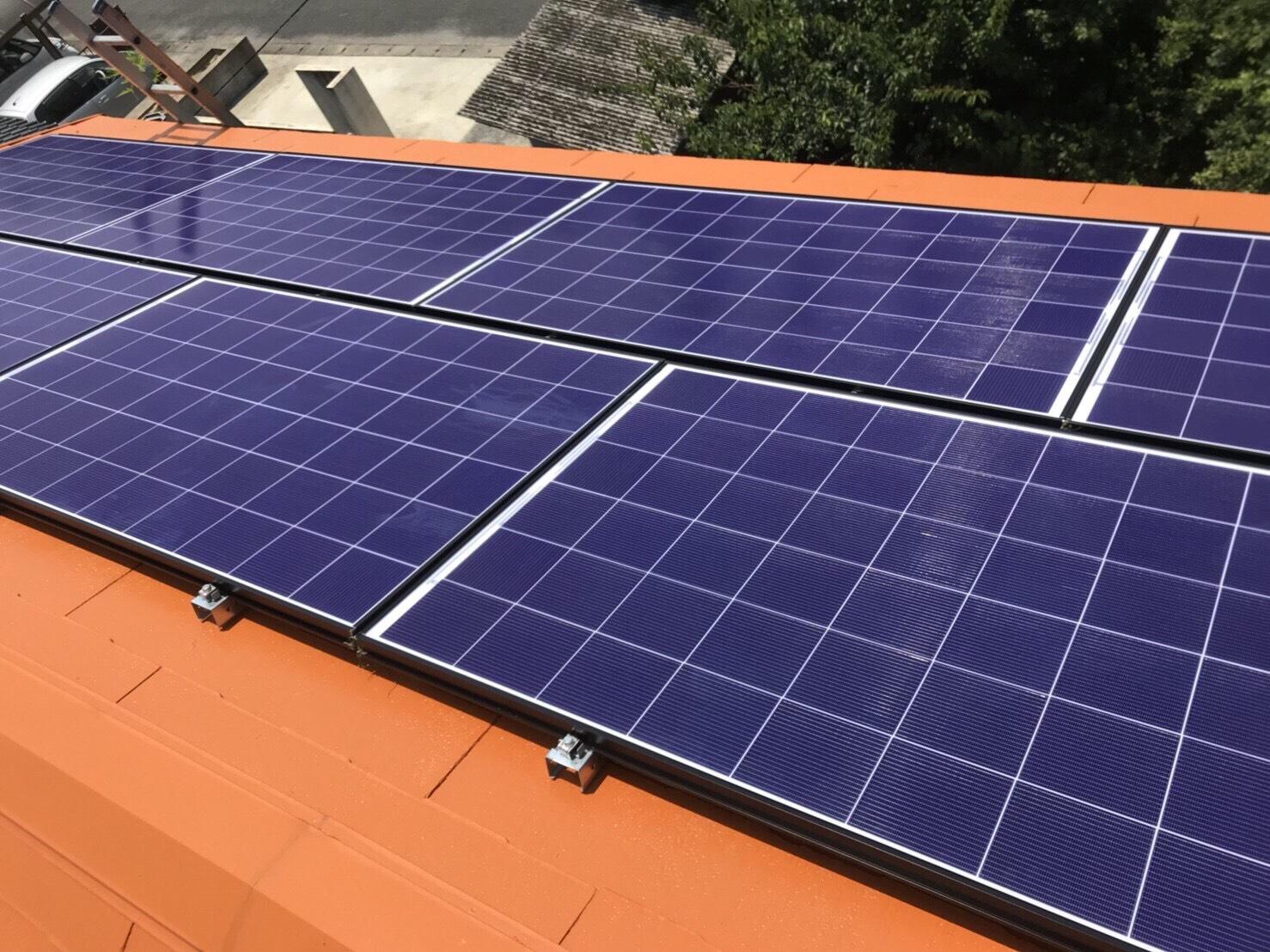 長州産業の太陽光発電システムモジュール CS-320G31