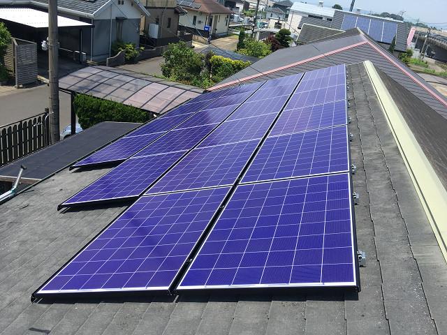 長州産業6.00㎾太陽光発電システム(モジュールCS-286G31)