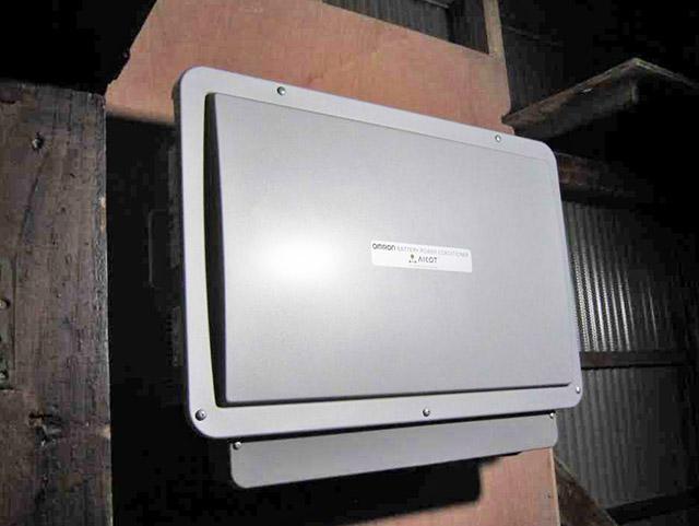 久留米市 中島邸 オムロン蓄電池6.5 パワコン設置済み