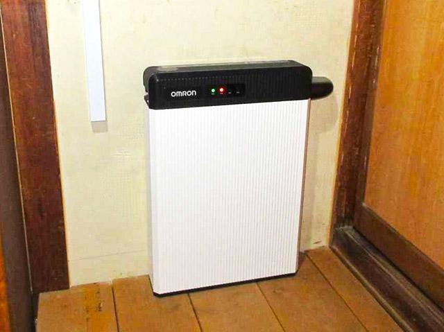 久留米市 中島邸 オムロン蓄電池設置済み