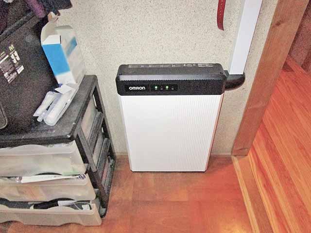 飯塚市 村瀬様邸 オムロン蓄電池ユニット設置済