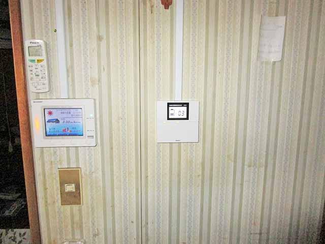 飯塚市 村瀬様邸 オムロン蓄電池のリモートコントローラ取付完了