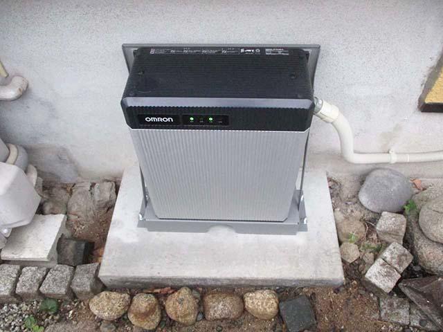 福岡市西区 N様邸 蓄電池ユニット設置済み
