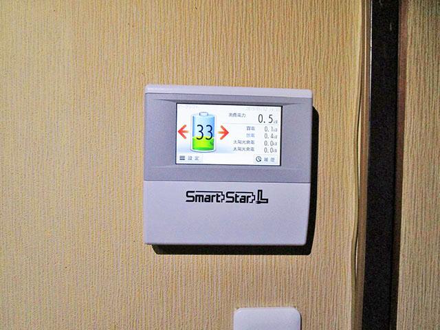 田川郡のS様邸 スマートスターのエネルギーモニター設置