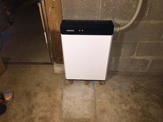 佐世保市 オムロン 久田邸 蓄電池ユニット設置完了