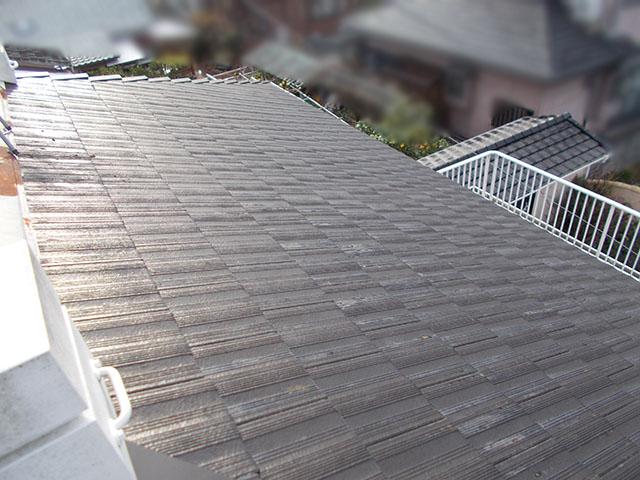 朝倉郡 T様邸 太陽光施工前のセメント瓦屋根