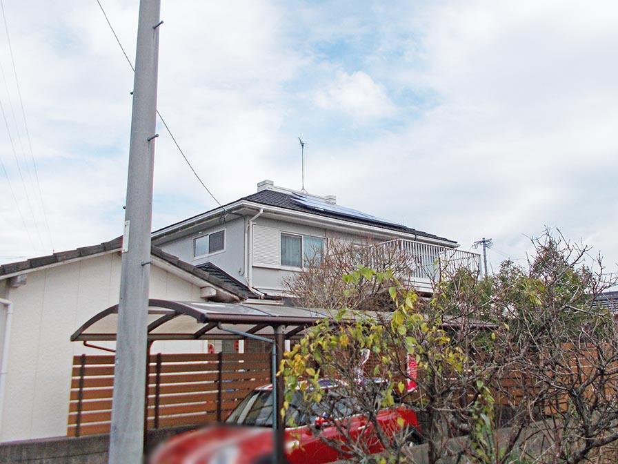 朝倉郡 T様邸 長州産業太陽光発電システム