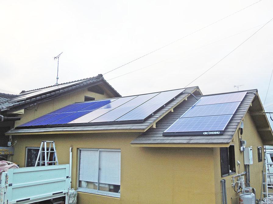 豊後大野市 赤嶺様邸 太陽光と蓄電池工事