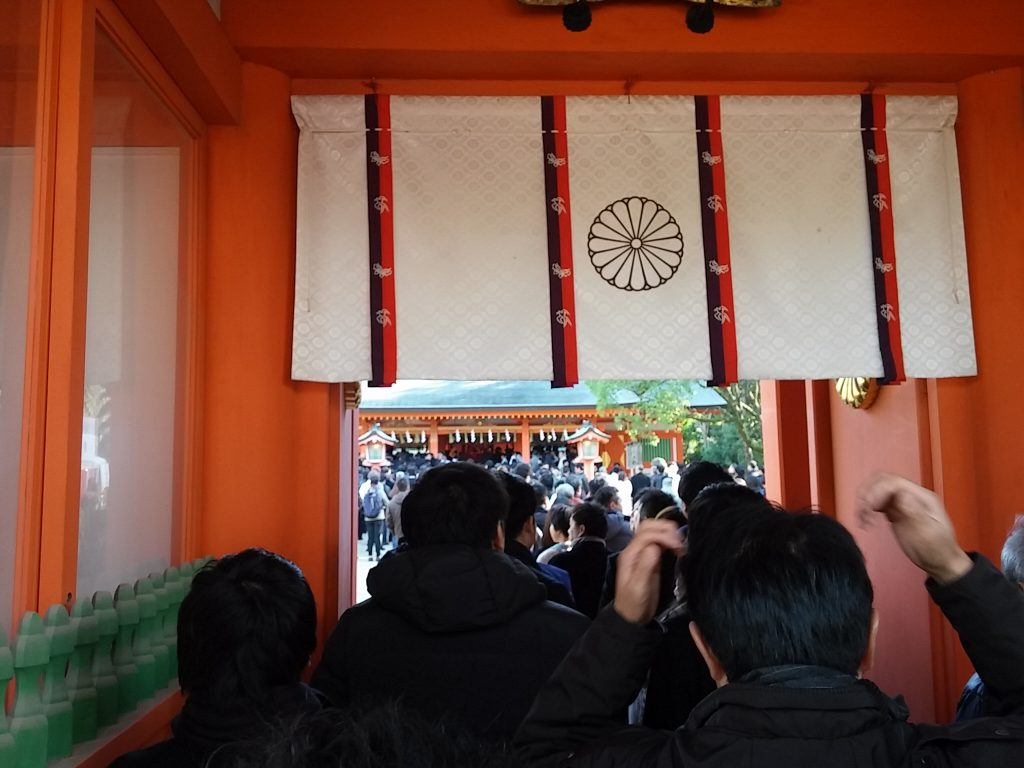 2019年 住吉神社新年参拝