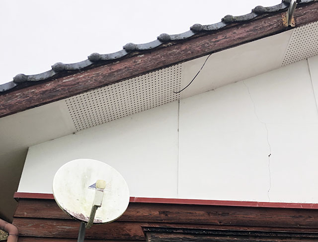 宮崎市 オムロン6.5 I邸 パワコン設置予定場所