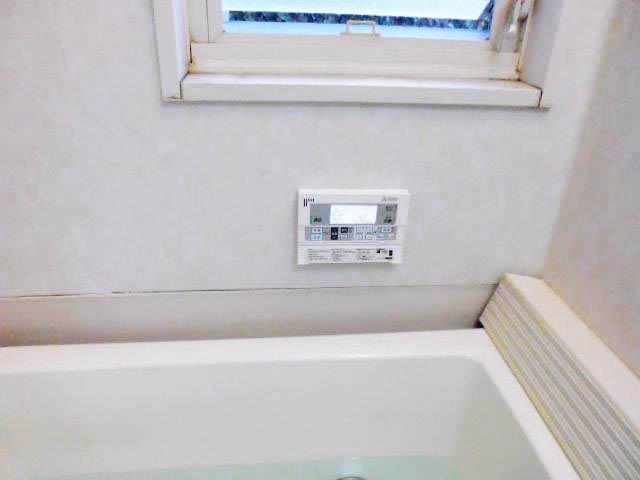 遠賀郡 山口様邸 三菱エコキュート 浴室リモコン