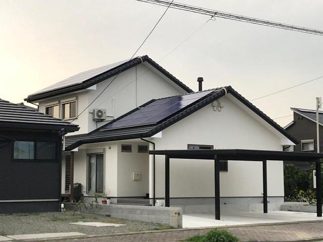 日南市 長州産業の太陽光 Y様邸