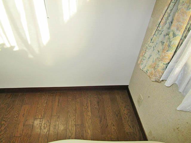 八女郡の原様邸 オムロンの蓄電池6.5kWhタイプ本体設置前 屋内