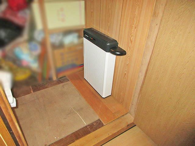 嘉麻市 大谷様邸 オムロン6.5kWhフレキシブル蓄電池ユニット本体