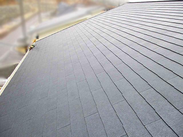 春日市 中尾様邸 太陽電池モジュール設置前 スレート屋根