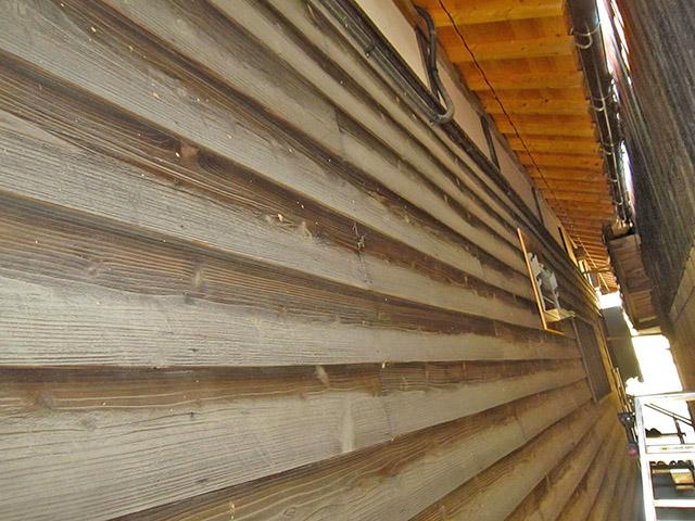 嘉麻市 大谷様邸 オムロン蓄電池のパワコン設置前の壁