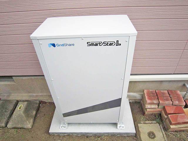 北九州市の原様邸にてスマートスターL蓄電池本体設置