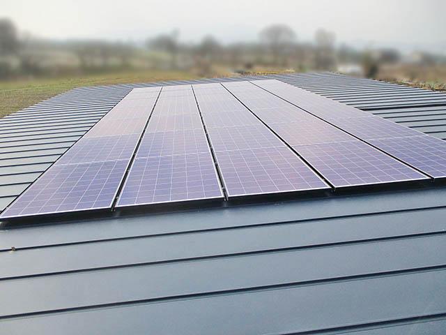 小郡市 T様邸 太陽光発電システム 太陽電池モジュール設置