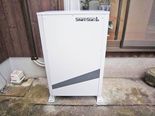 田川郡 伊藤様邸 スマートスターL 蓄電池本体設置完了