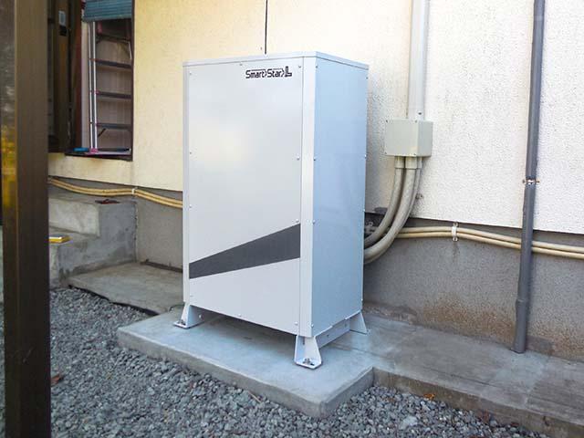 朝倉市のY様邸にてスマートスターL蓄電池設置しました