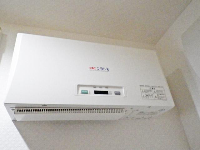 朝倉郡 手島様邸 太陽光発電のパワコン設置