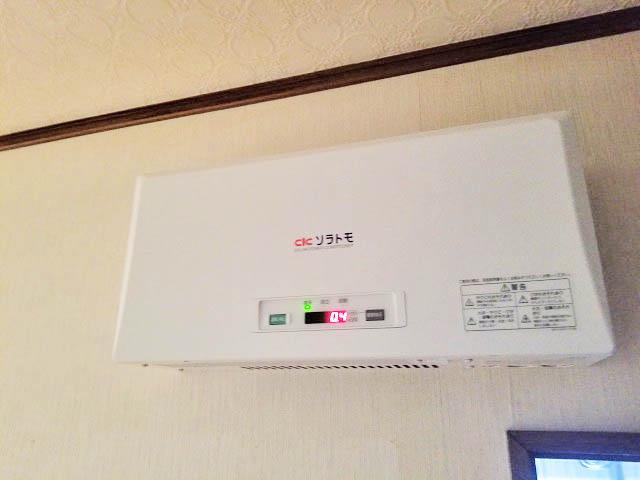 宮崎市 山下様邸 太陽光発電用パワーコンディショナ 屋内設置