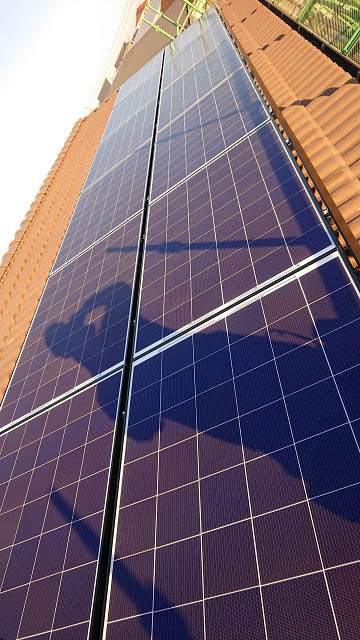 宮崎市 渡邊様邸 太陽電池モジュール設置