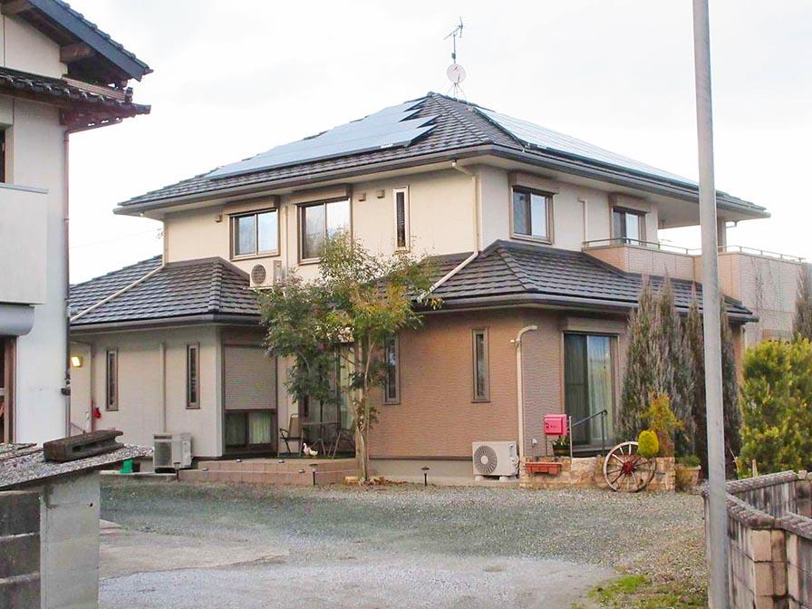 飯塚市のY様邸にてシャープの太陽光とスマートスターをつけさせていただきました