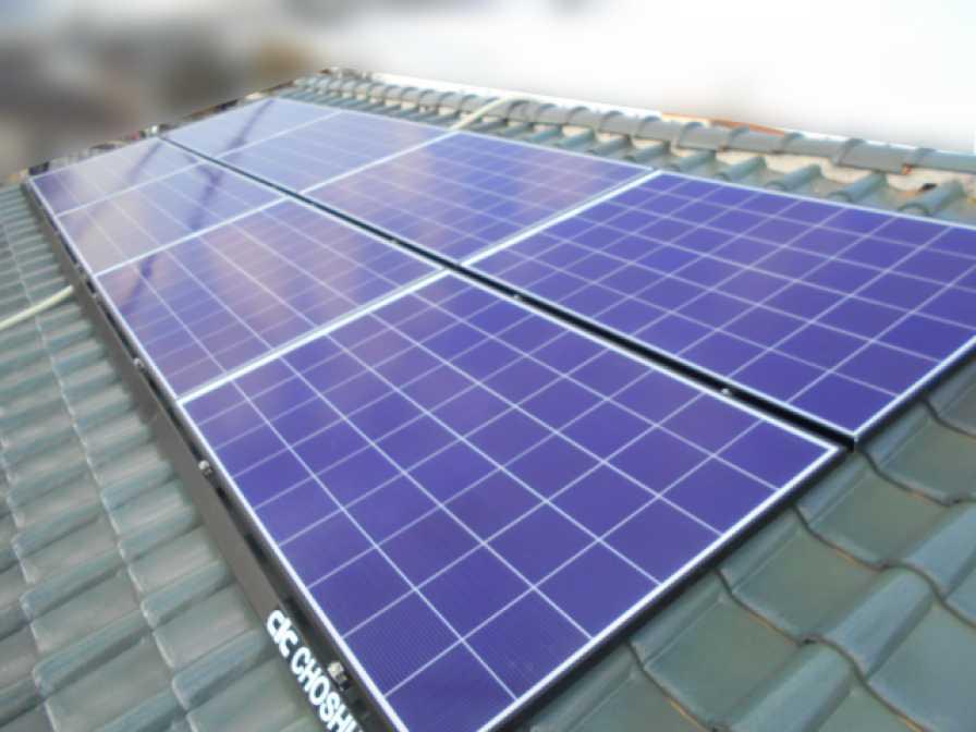 ■福岡県飯塚市のI様邸にて、太陽光発電システムを設置しました!