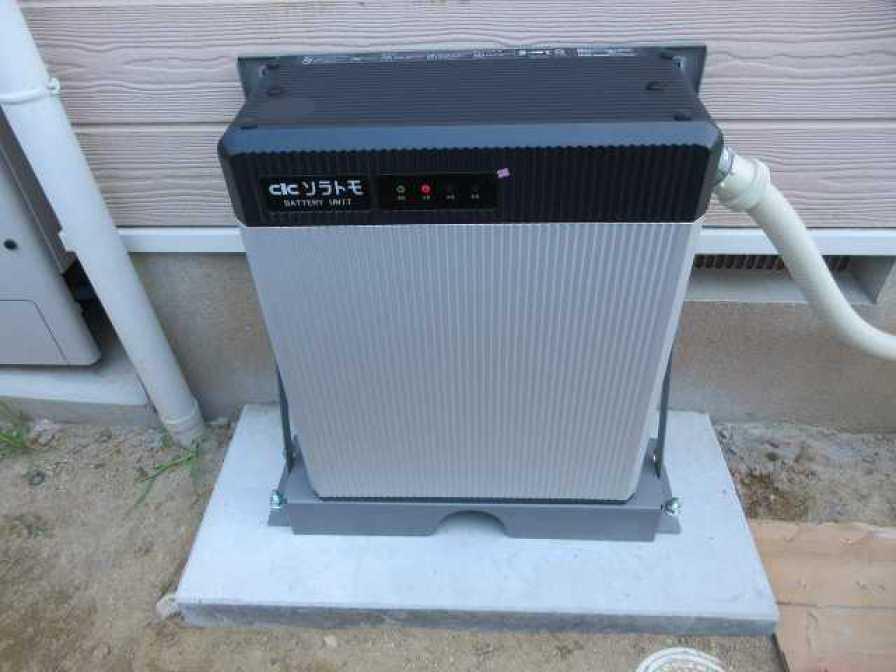 福岡県宗像市のK様邸にて、蓄電システムを設置しました!