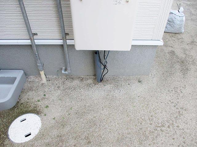 福津市のH様邸で三菱オール電化工事しまいた
