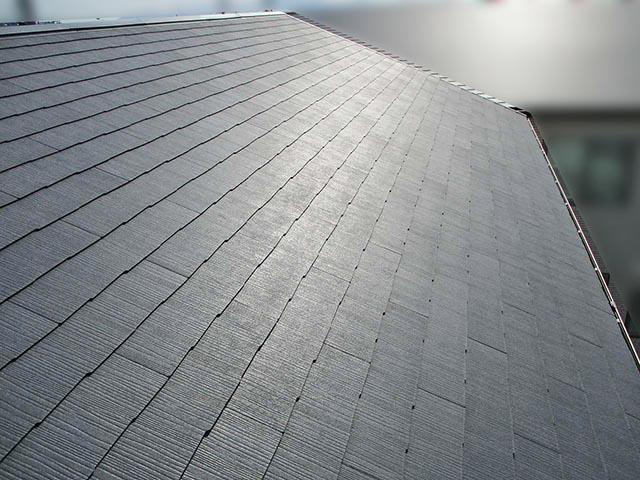 福岡市西区のH様邸にて長州産業Gシリーズの太陽光発電システム設置工事をしました。施工前のスレート屋根です。