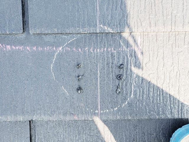 福岡市東区のI様邸にて長州産業Gシリーズの太陽光発電システム工事しました。屋根施工写真です。