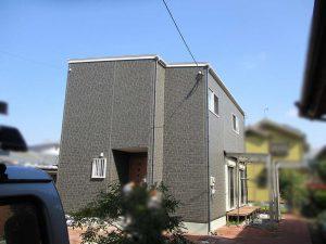 筑後市のK様邸で太陽光発電の設置工事しました。