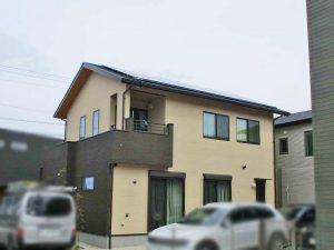 福岡市西区のH様邸にて長州産業Gシリーズの太陽光発電システム設置工事をしました。