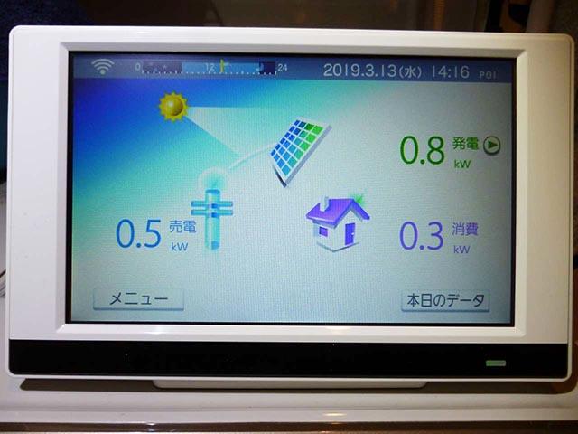 北九州市のZ様邸に長州産業の太陽光発電つきました