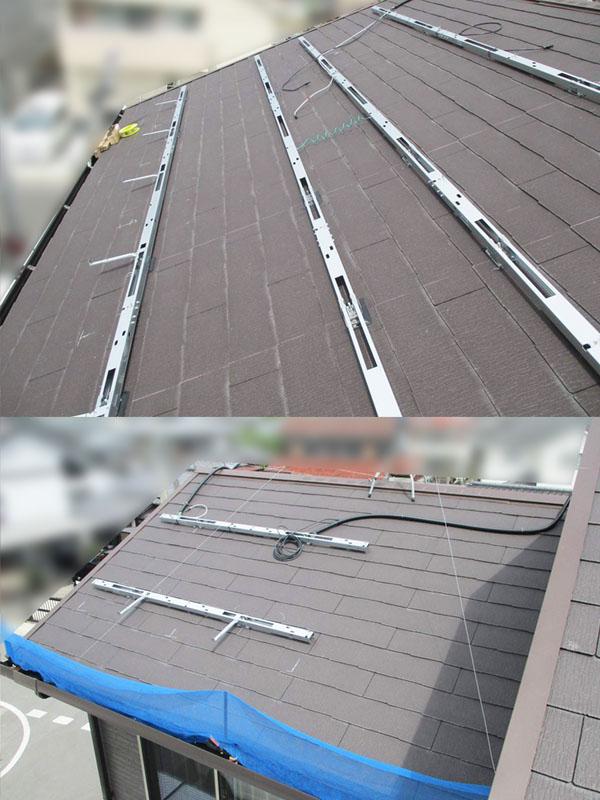 久留米市のS様邸にて長州産業Gシリーズの太陽光発電システム設置工事をさせていただきました。