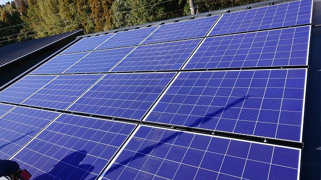 宮崎市の松浦様邸にて、太陽光モジュール設置しました。