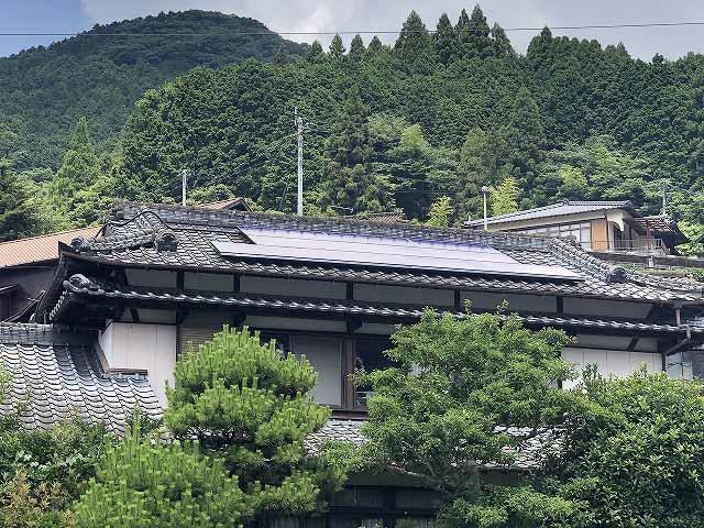 東彼杵郡のY様邸に長州産業の太陽光発電がつきました!