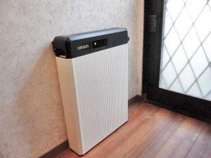 柳川市のS様邸にオムロンの蓄電池つきました!