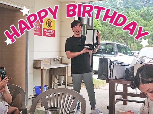 西口社長お誕生日おめでとうございます!