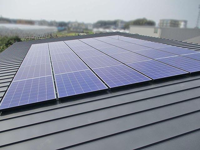 八女郡のY様邸は太陽光発電はじめました