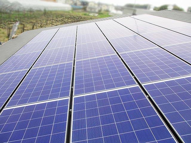 八女郡のK様邸で太陽光発電はじめました