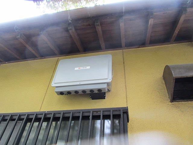 飯塚市のI様邸で長州産業フレキシブル蓄電池導入