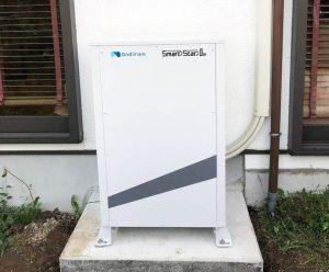 飯塚市のN様邸にてスマートスターL蓄電池設置しました!
