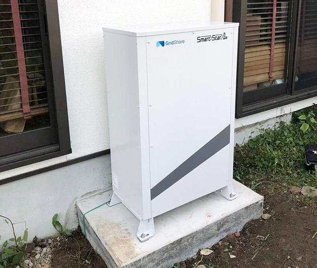 飯塚市のN様邸にてスマートスターL蓄電池設置しました!設置完了