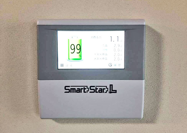 飯塚市のN様邸にてスマートスターL蓄電池設置しました!エネルギーモニター