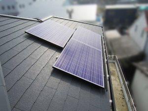 糸島市のK様邸にて太陽光発電システムと蓄電システムのスマートPVの設置工事しました。