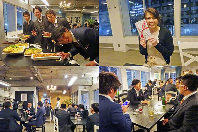 新日本エネックス設立5周年記念祝賀会&2019年度表彰式後の二次会パーティ