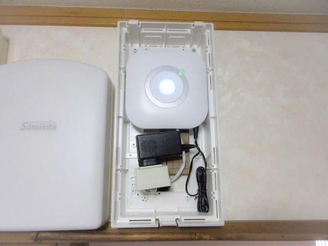 福岡県中間市のY様邸にて、蓄電システムの設置工事をしました≪安心見守りサービス≫
